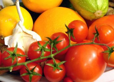 Frutas y hortalizas
