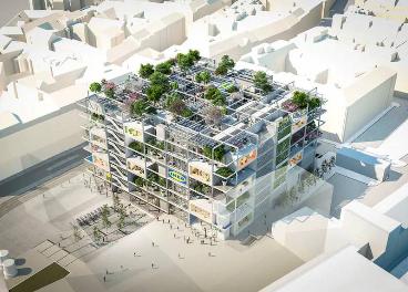 La futura tienda de Ikea en Viena