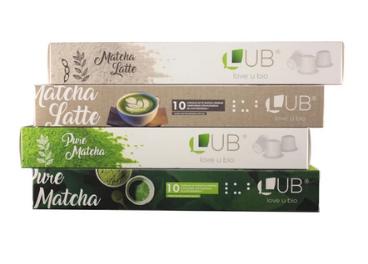 Cápsulas de té matcha de LUB (Love U Bio)