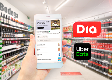 DIA se une a Uber Eats para crecer online