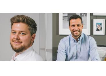 Andreas Flygare y Carlos Cocheteux (IKEA)