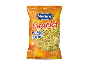 Medina vende sus patatas fritas y snacks a Apex