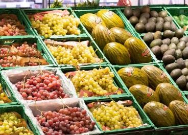 Interior del supermercado de Bon Preu