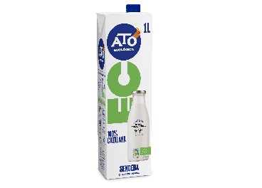 Gama de leche ecológica de ATO (Capsa Food)