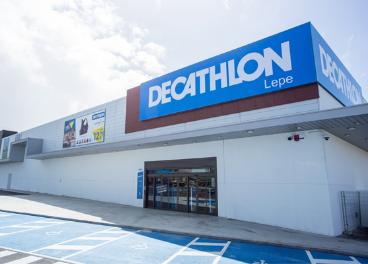 Tienda de Decathlon en Lepe (Huelva)