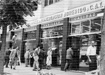 Primera tienda de Caprabo en 1959