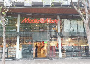 Nueva tienda urbana de MediaMarkt en Barcelona
