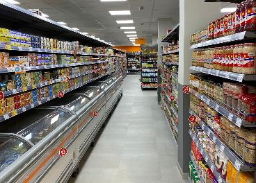 Nuevos supermercados de Consum y Mercadona