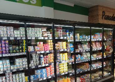 Interiror del nuevo supermercado Covirán