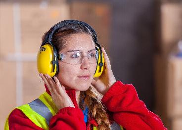 Trabajadora de logística