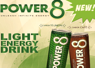 GOUP lanza Power 8 Light Energy Drink