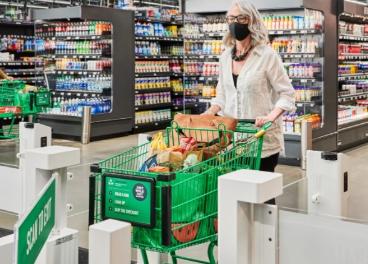 Primer supermercado grande de Amazon