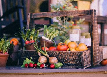 Frutas y verduras copan el 12% de la cesta