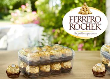 Ferrero Rocher cambia de caja