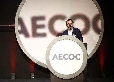Ignacio González, en el Congreso de Aecoc
