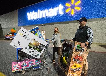 Compras en Walmart