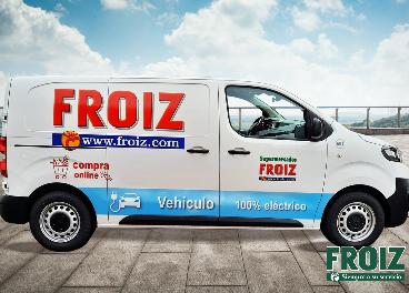 Nuevas furgonetas eléctricas de reparto de Froiz