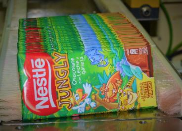 Nestlé Jungly chocolate