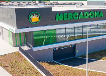 Supermercado de Mercadona en Portugal