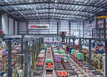 Almacén digital de Nestlé y XPO