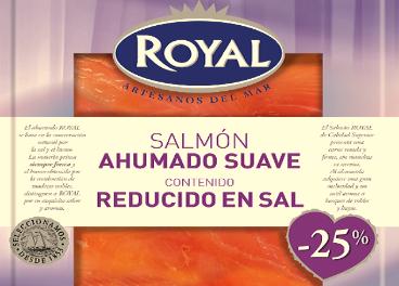 Salmón ahumado suave de Royal