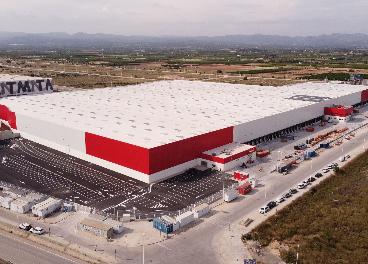 Nuevo centro logístico de Conforama