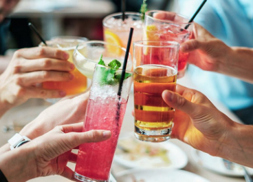 Bebidas en verano