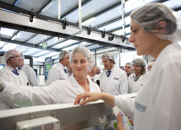Trabajadores de Nestlé