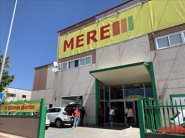 Primera tienda de Mere en España, en Parla (Madrid)