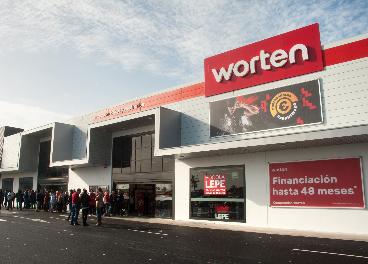 Tienda de Worten en Lepe (Huelva)