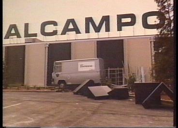 Hipermercado de Alcampo en 1981