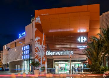 Centro comercial Alameda, en Málaga