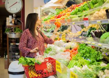 Crece un 7,3% el gasto en frutas y hortalizas