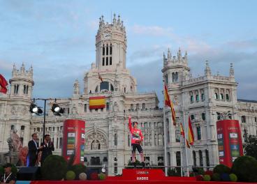 Podium Madrid