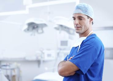Doctor en un quirófano, ¿también en Amazon?