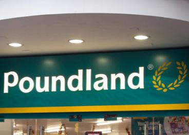 Fachada de tienda de Poundland