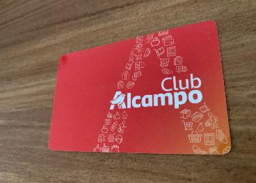 Tarjeta del nuevo Club Alcampo