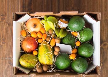 Envase sostenible de AFCO para frutas y hortalizas