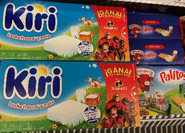 Kiri y La Vaca Que Ríe, productos de Bel
