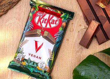 Nestlé lanza un KitKat vegano