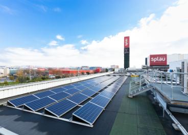 Planta fotovoltaica de Splau