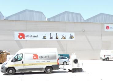Centro logístico de Alfaland en Valdemoro