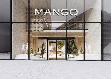 Nuevo concepto de tienda de Mango
