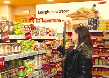 Interior de franquicia Suma, de GM Food