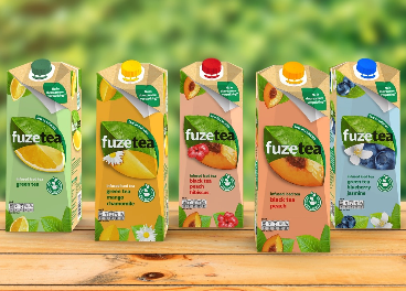 Fuze Tea, primera marca de té con SIGnature