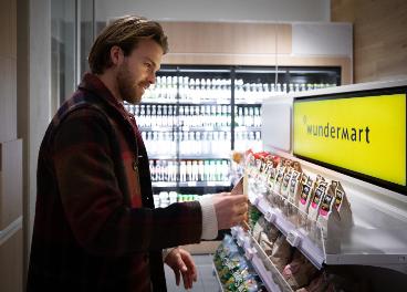 Tienda automatizada Wondermart en hotel