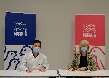Acuerdo de Nestlé y Cantabria