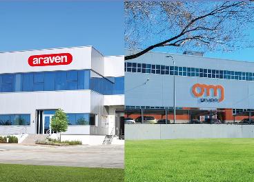 Instalaciones de Araven y Grupo OM