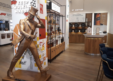 Flagship store de Johnnie Walker en Madrid