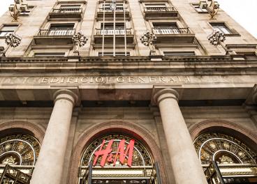 Tienda de H&M en Barcelona